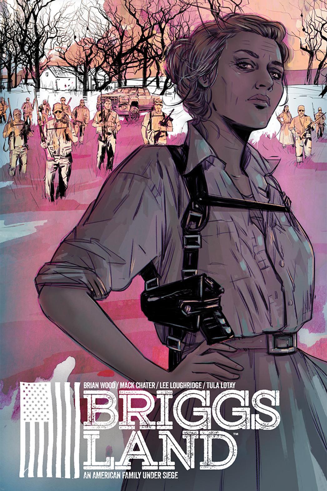 Briggs Land cover - P 2016