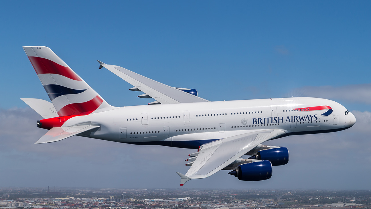 British Airways A380 - H 2016