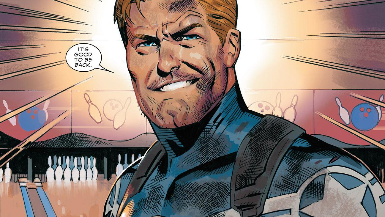 Captain America Steve Rogers Comic - Publicity - H 2016