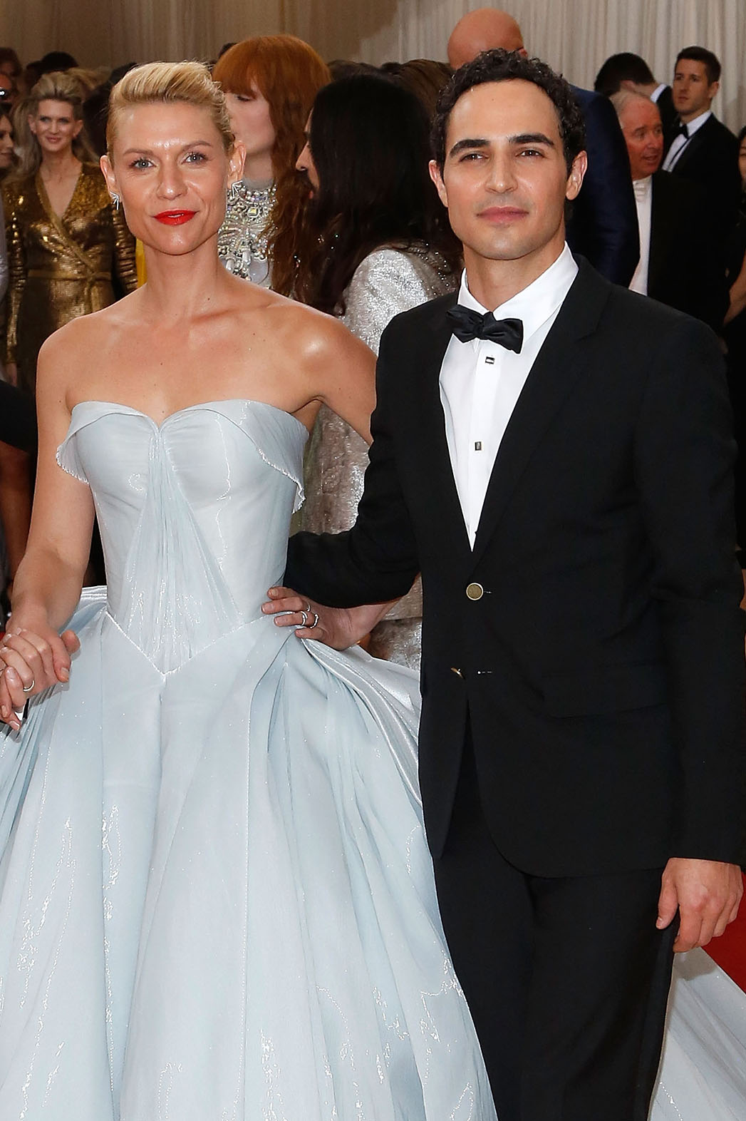 Claire Danes and Zac Posen Met Gala - Getty - P 2016