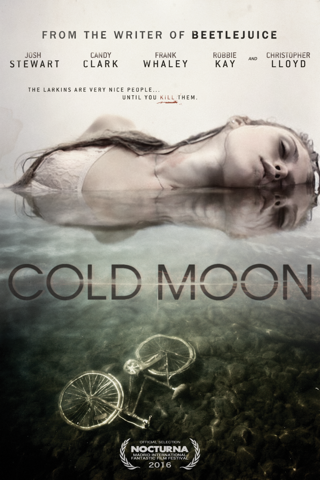 Cold Moon poster - Publicity - H 2016