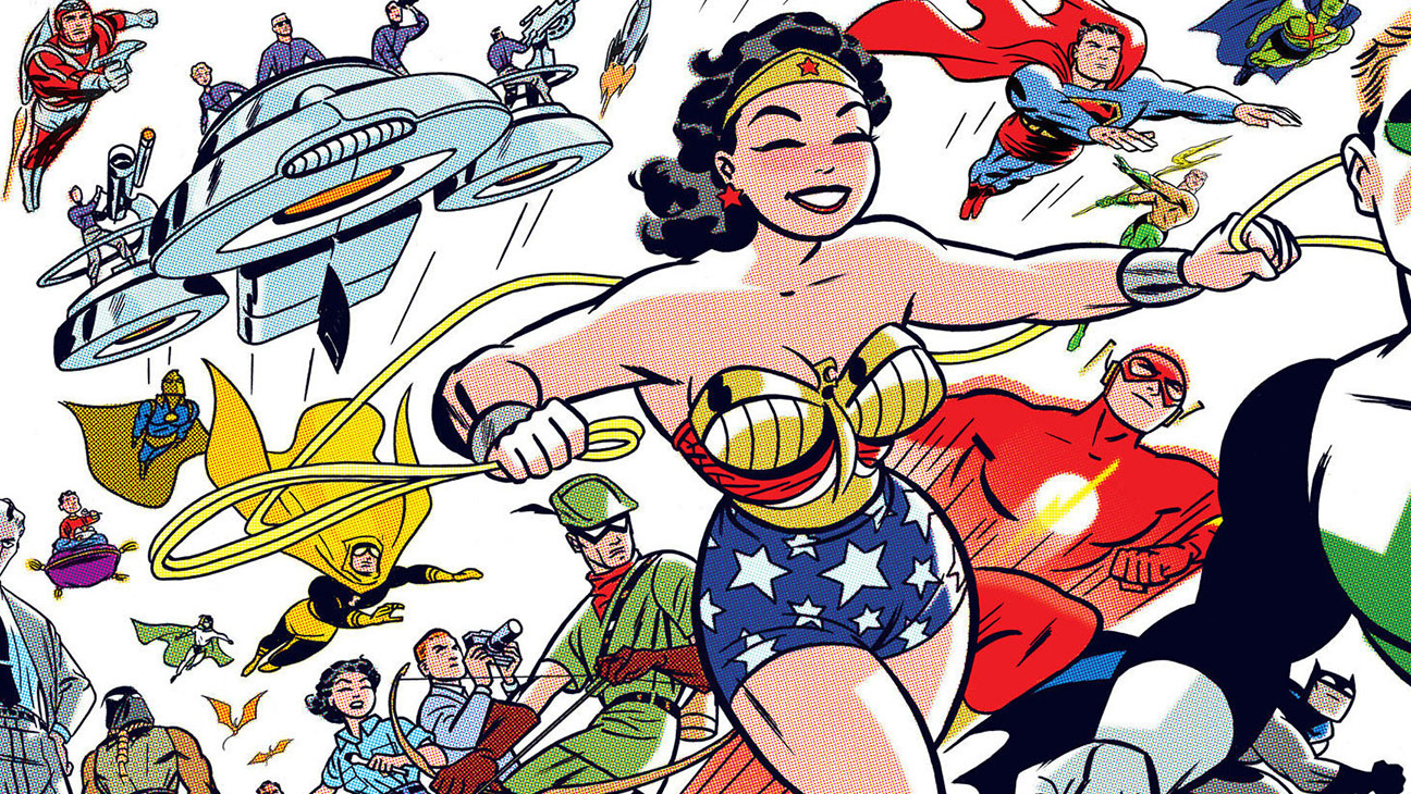 DC The New Frontier - Publicity - H 2016