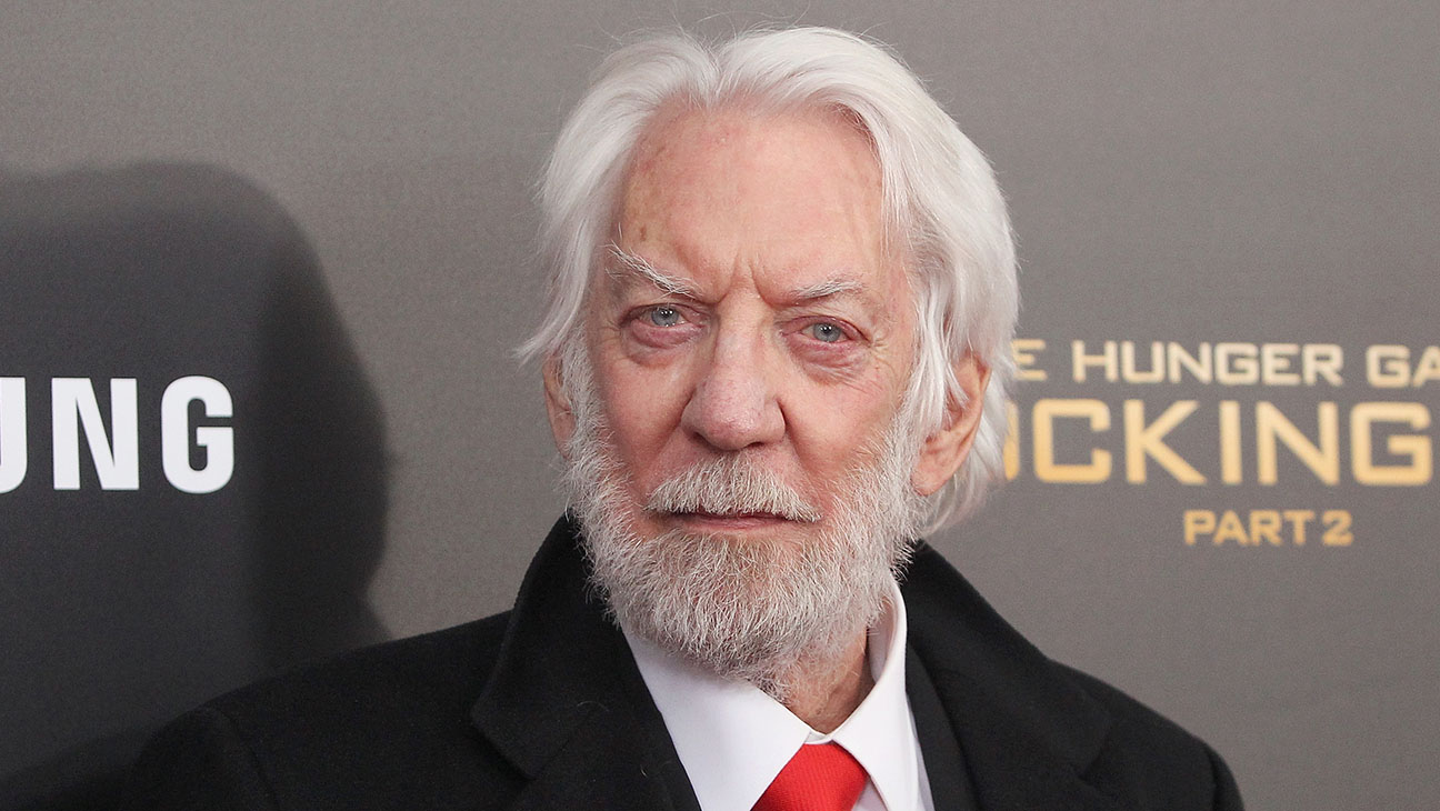 Donald Sutherland - Getty - H 2016