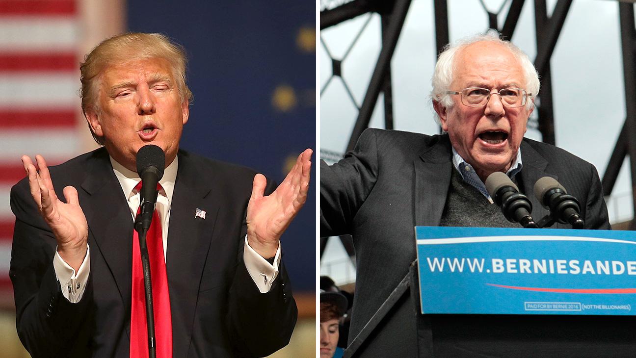 Donald_Trump_Bernie_Sanders_Split - Getty - H 2016