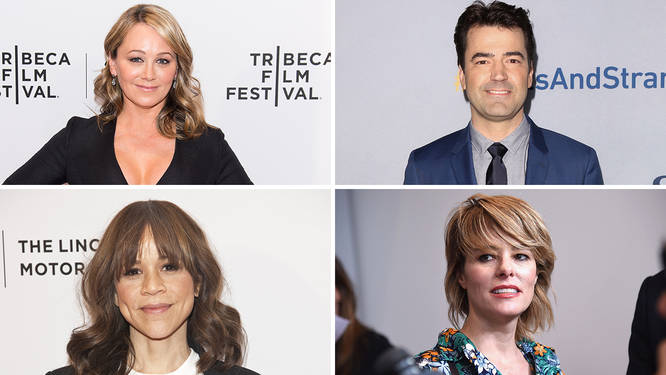 Rosie Perez, Ron Livingston, Parker Posey and Christine Taylor - H 2016
