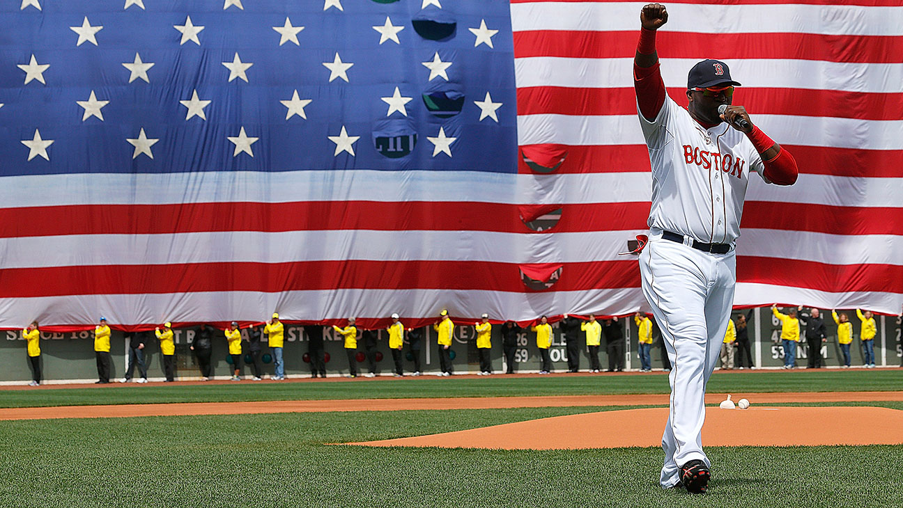 """David Ortiz - Boston """"This is Our Fucking City""""  - H 2016"""