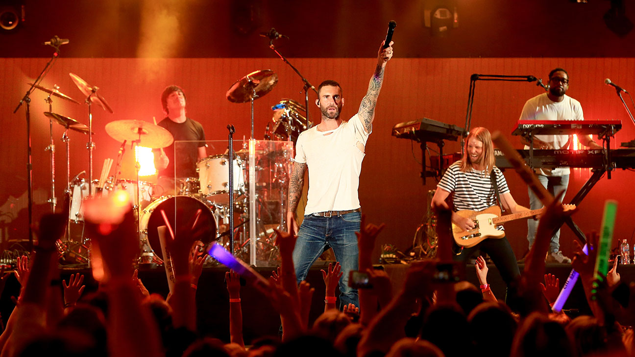 Maroon 5 perform onstage -third annual We Can Survive-H 2016