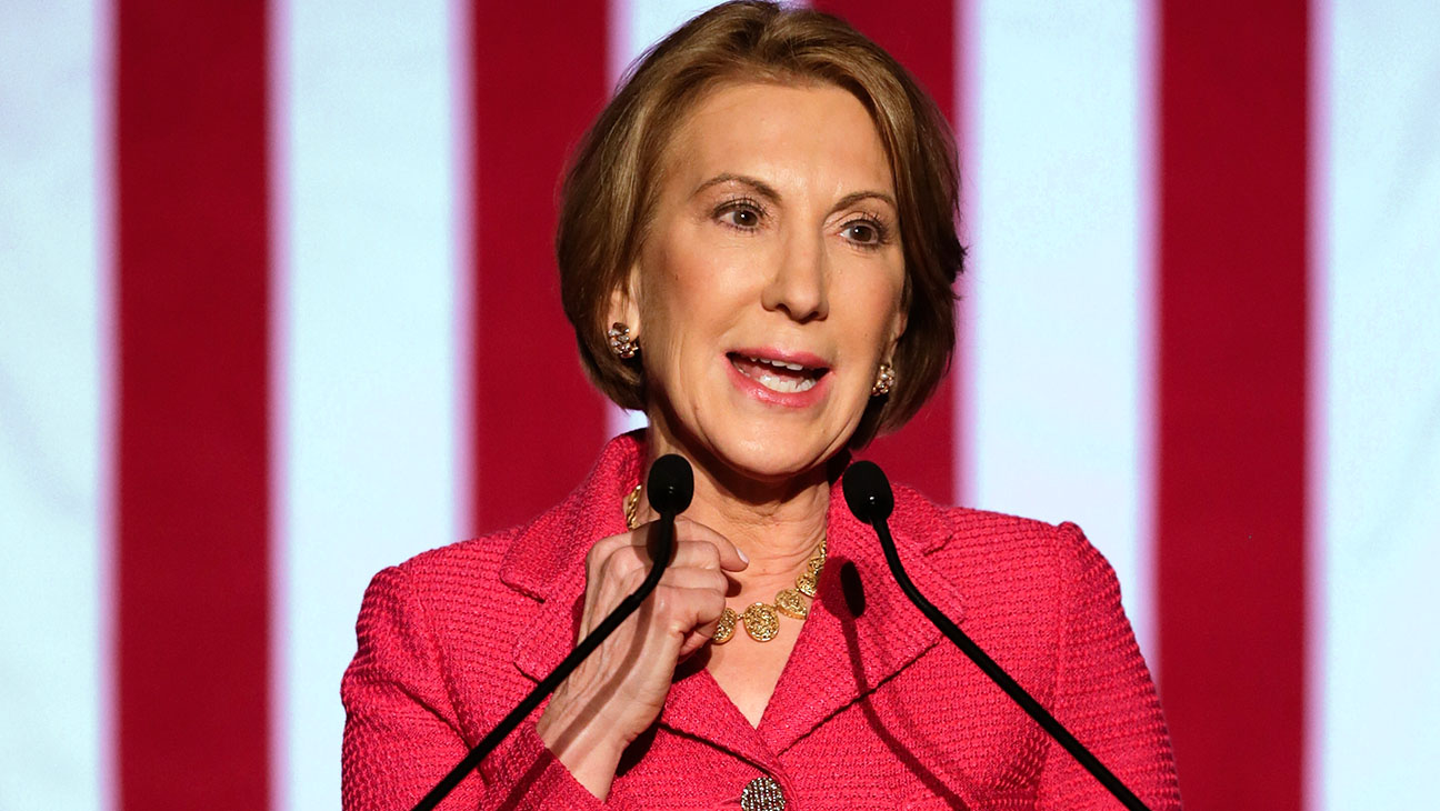 Carly Fiorina speaks at a watch party -March 15, 2016-Getty-H 2016