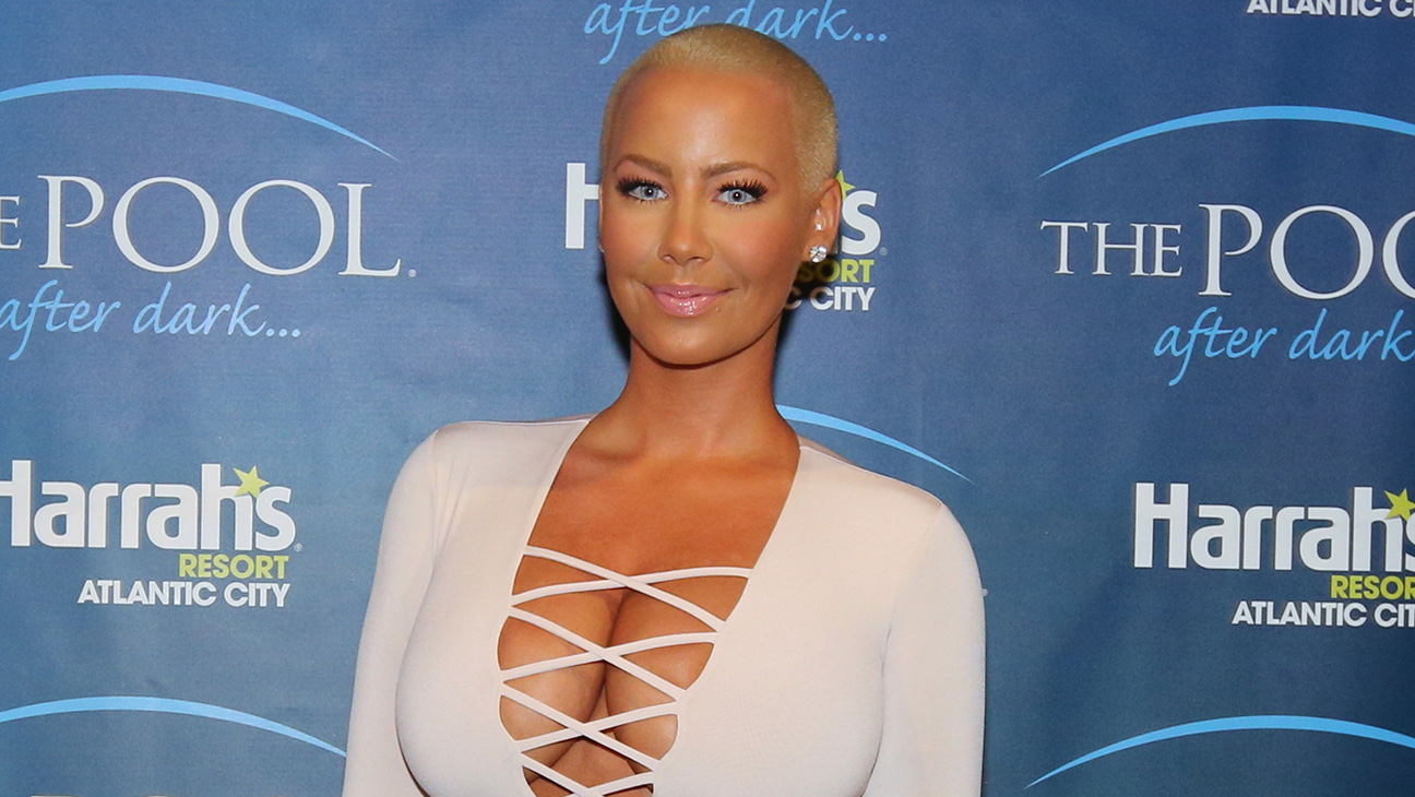 Amber Rose GETTY - H 2016