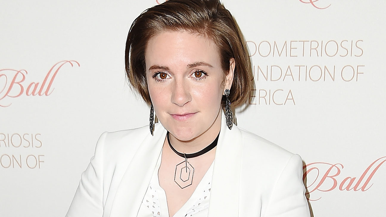 Lena Dunham -8th Annual Blossom Ball -Getty-H 2016