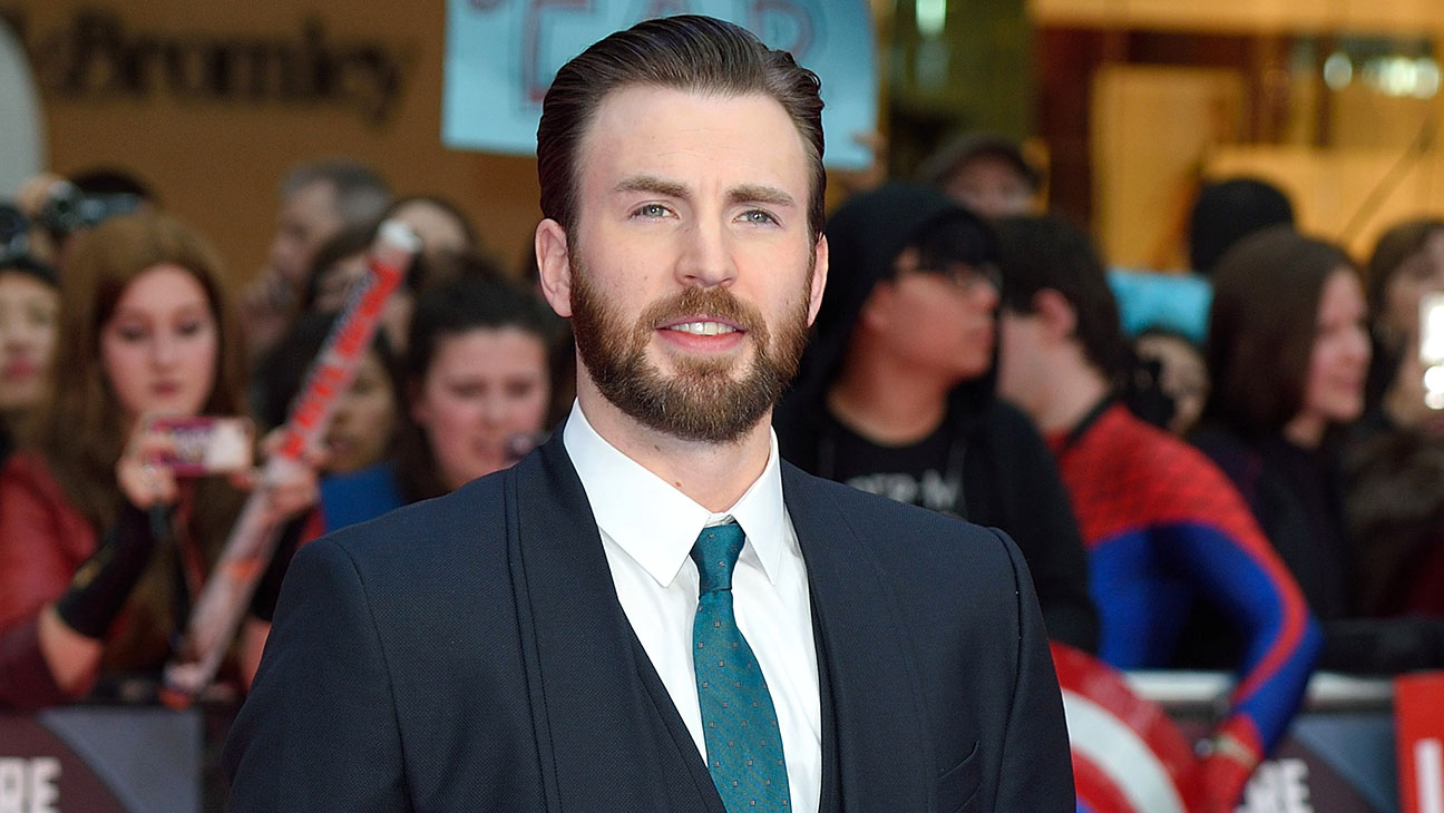 Chris Evans - European film premiere of Captain America: Civil War-H 2016