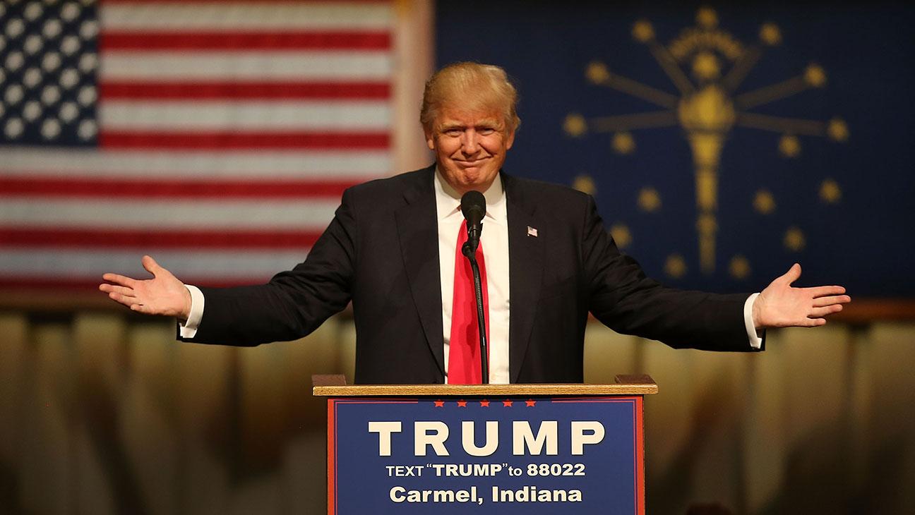 Donald Trump in Indiana GETTY - H 2016