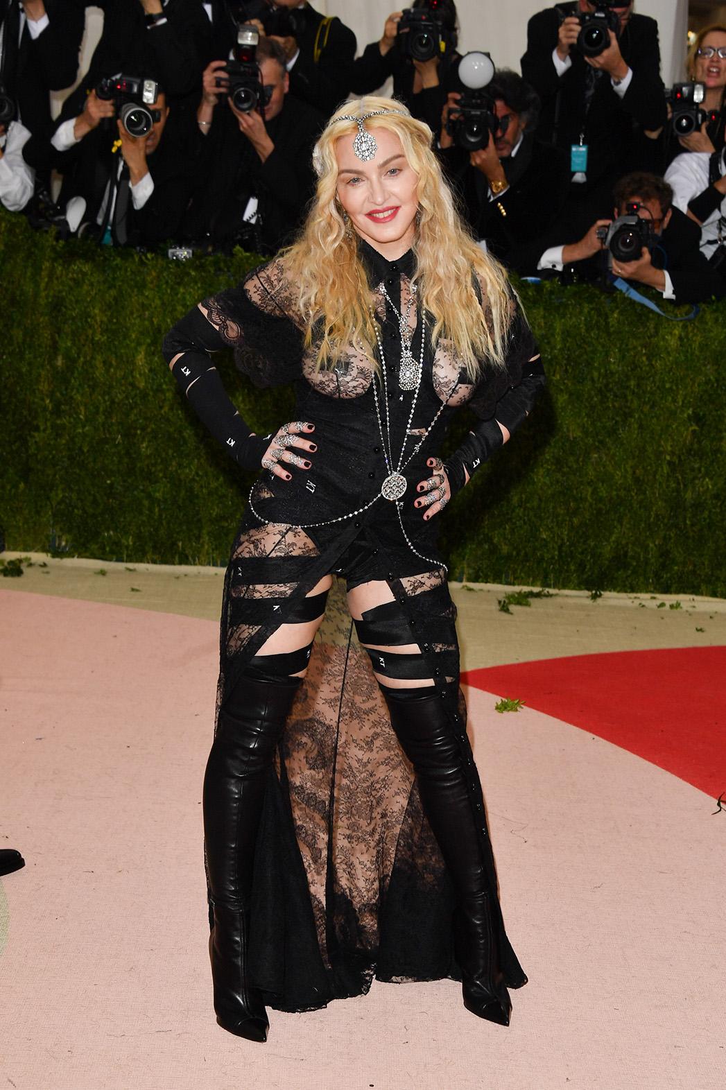 Madonna MET gala GETTY - P 2016