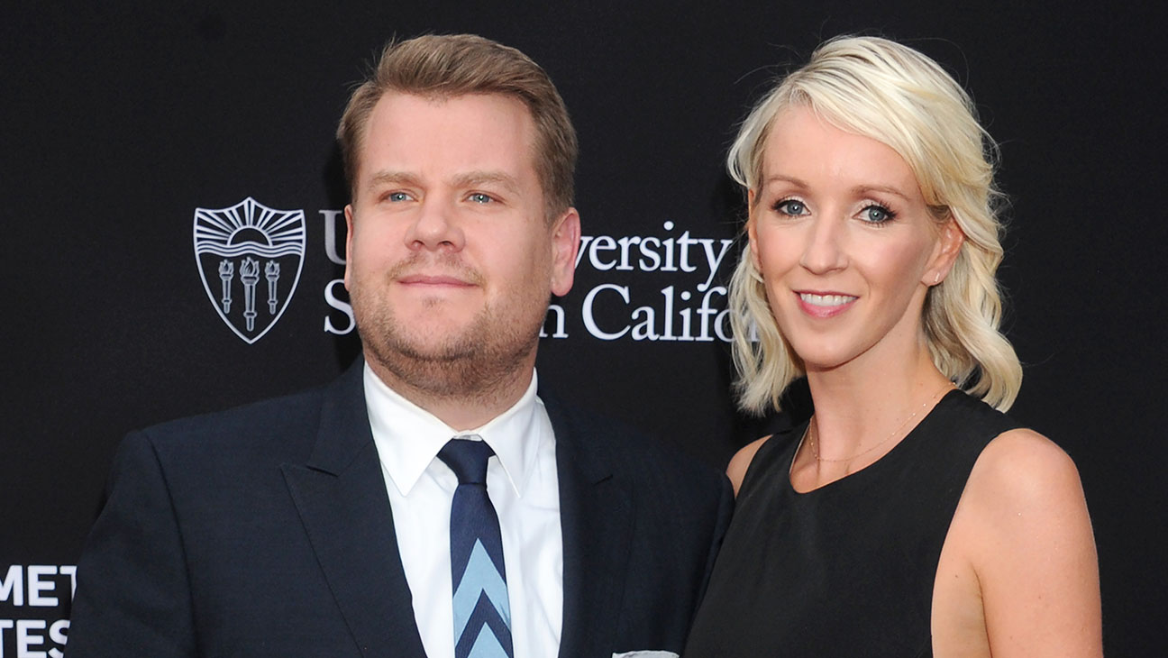 James Corden and wife Julia Carey -3rd Biennial Rebels With A Cause Fundraiser-Getty-H 2016
