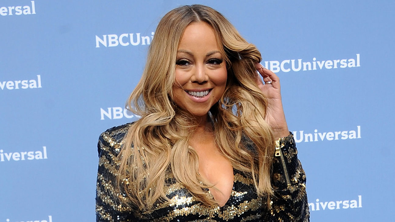 Mariah Carey  attends the NBCUniversal 2016 Upfront Presentation-Getty-H 2016
