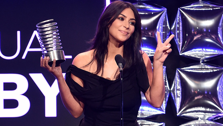 Kim Kardashian West - 20th Annual Webby Awards-Getty-H 2016