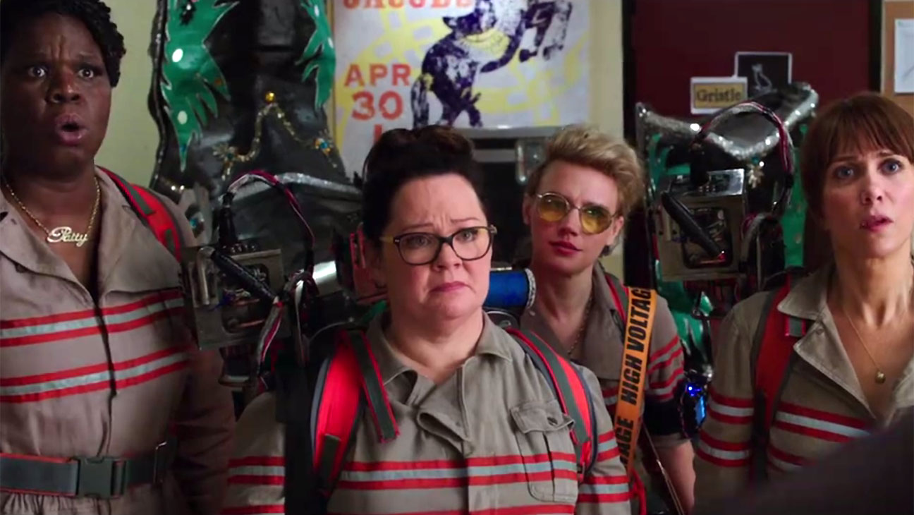 Ghostbusters New Trailer screen shot-H 2016