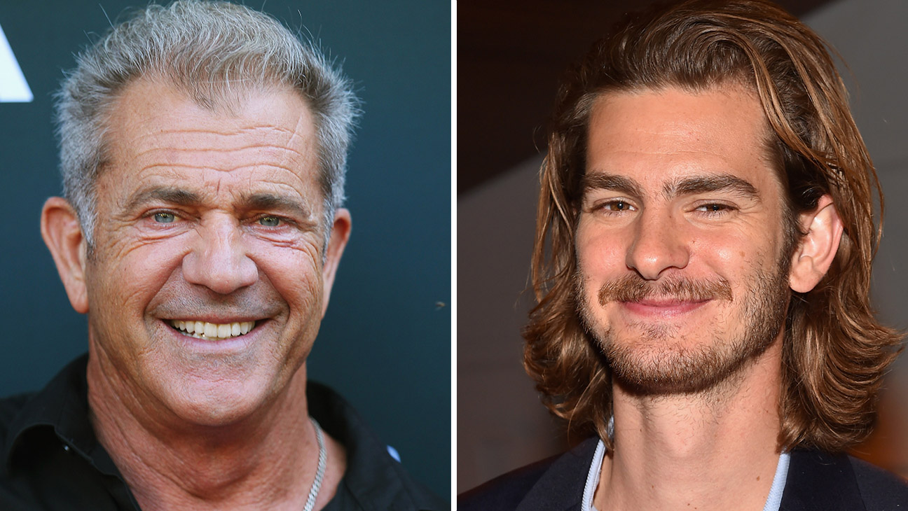 Mel Gibson and Andrew Garfield GETTY- H 2016