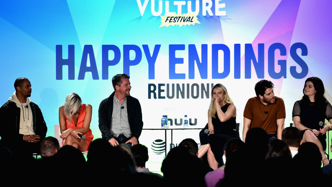 Happy Endings reunion Getty 2016 - H