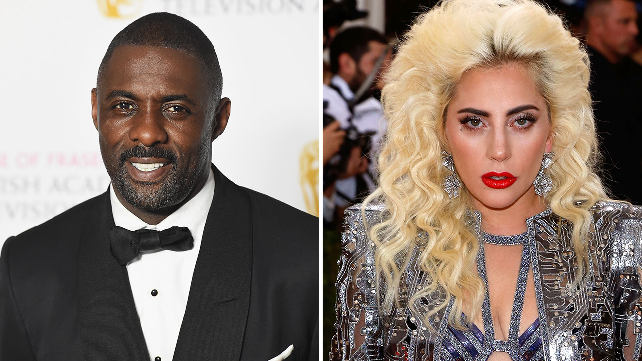 Idris Elba and Lady Gaga_Split - Getty - H 2016