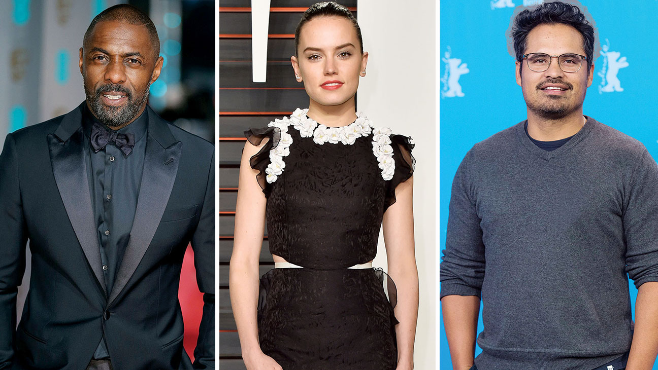 idris elba, daisy ridley and michael pena split-Getty-H 2016
