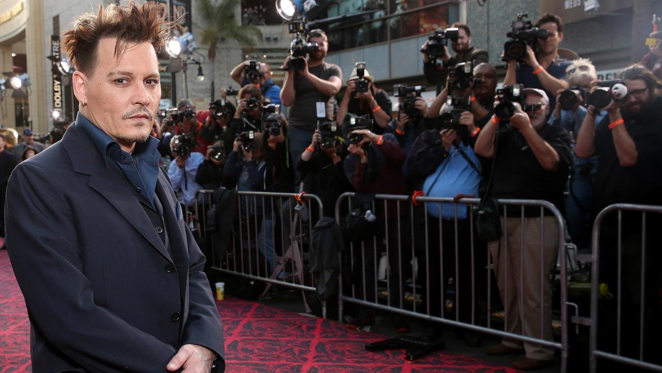 Johnny Depp - H - 2016