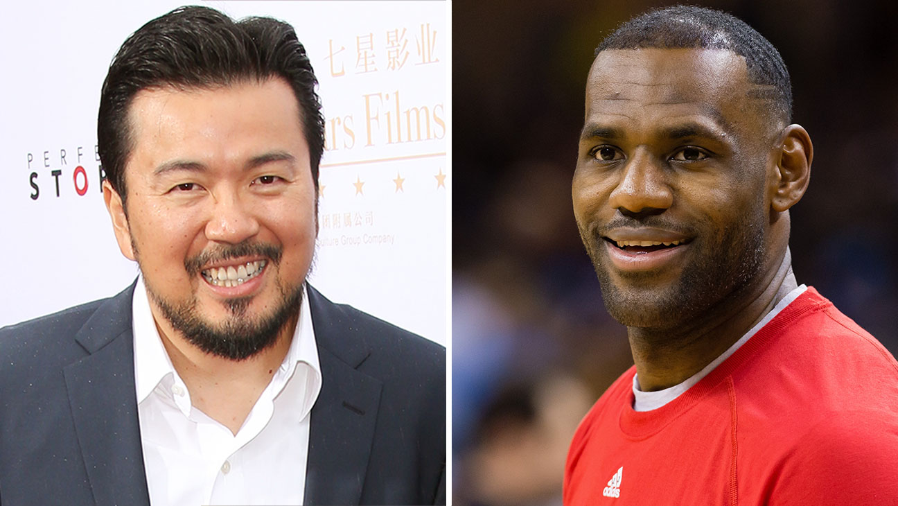 Justin Lin and LeBron James -Split- Getty-H 2016