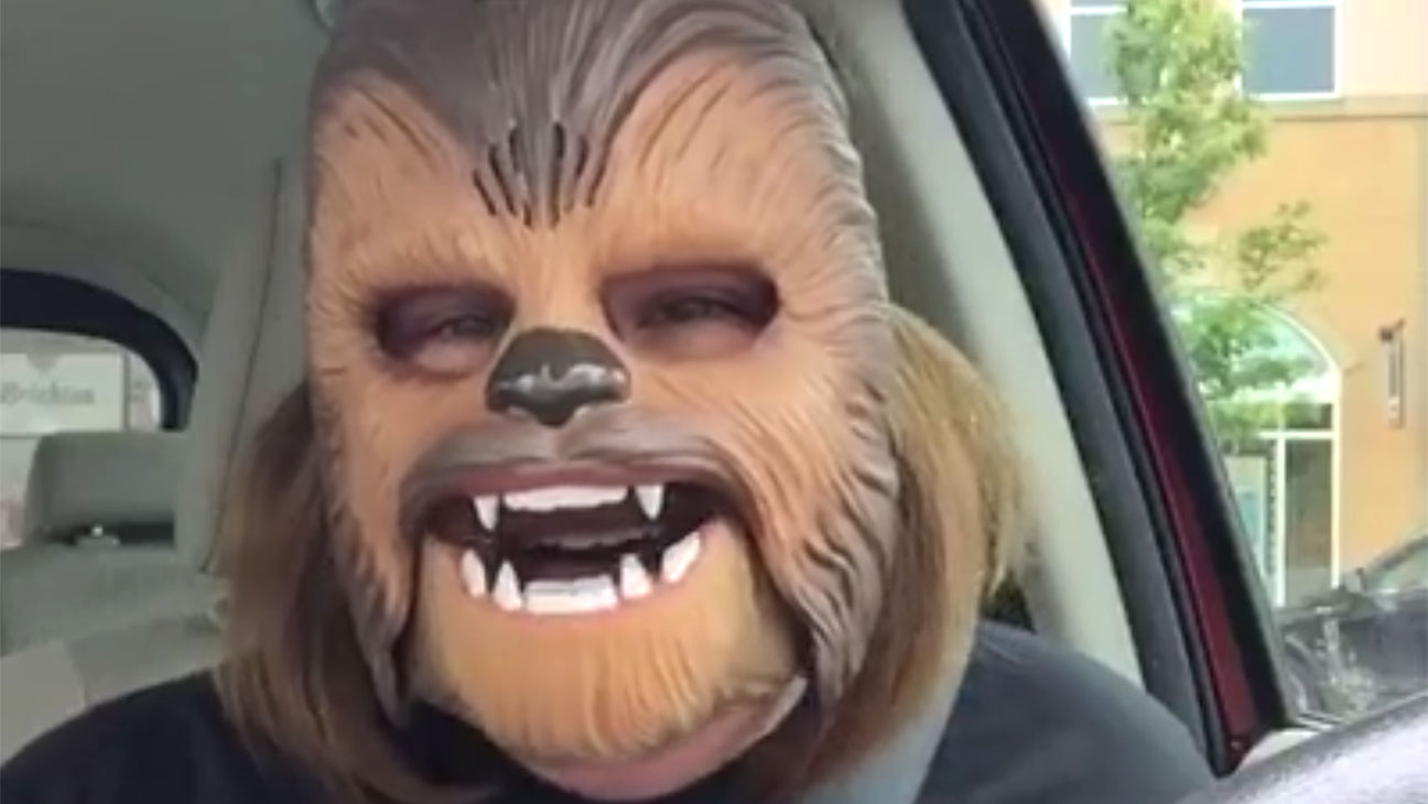 Lady Chewbacca Mask - H 2016