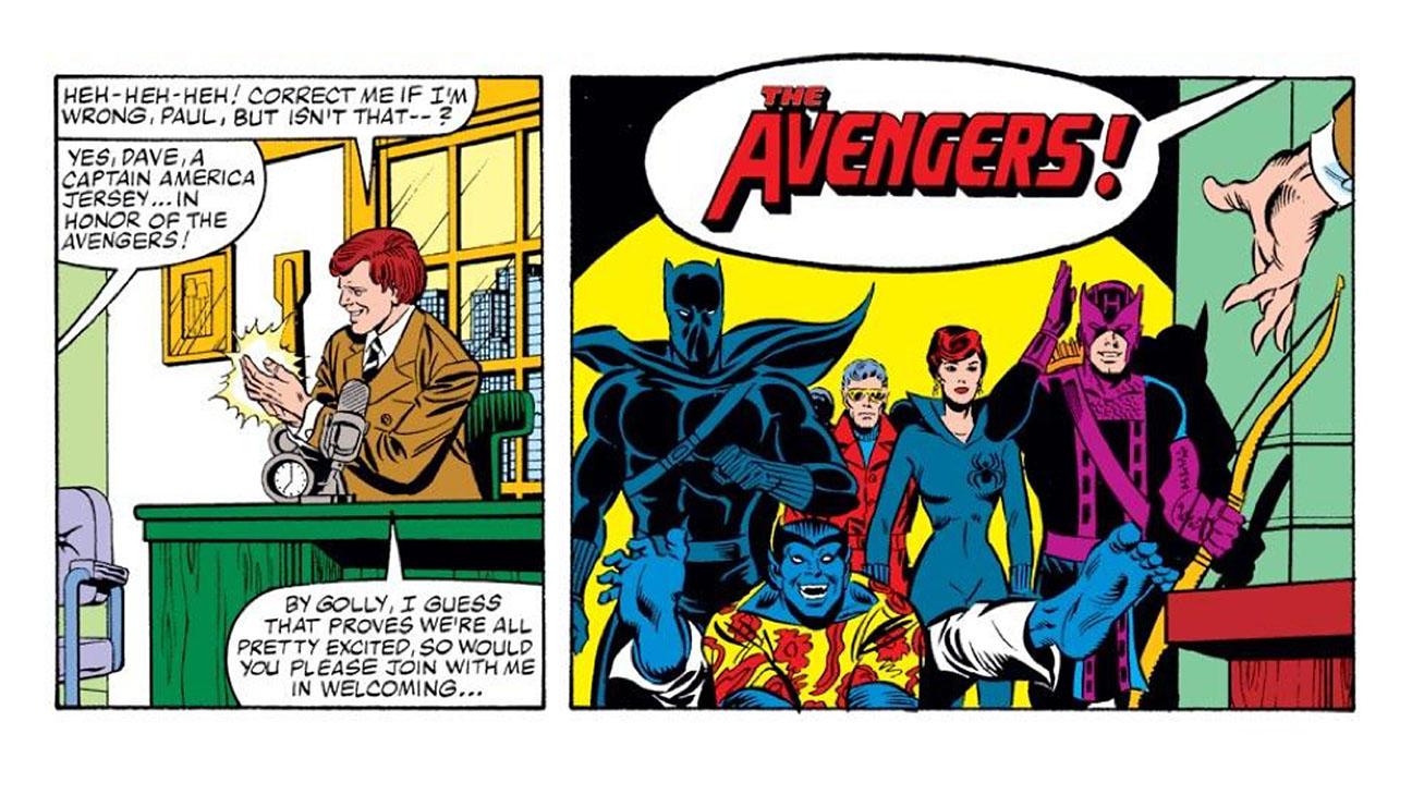 Avengers Letterman - Publicity - H 2016