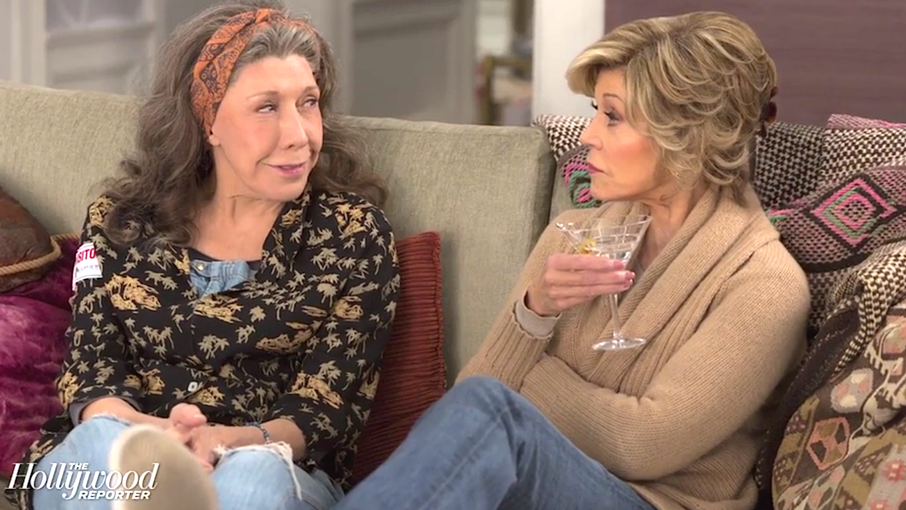 'Grace and Frankie' Behind the Scenes with Actress June Diane Raphael | Hot Set!