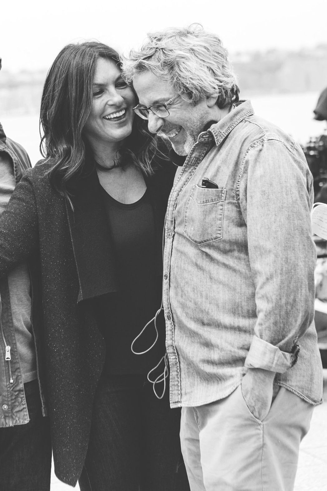 Mariska Hargitay and Warren Leight -Publicity-P 2016