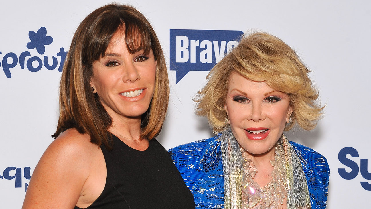 Melissa and Joan Rivers - Getty - H 2016