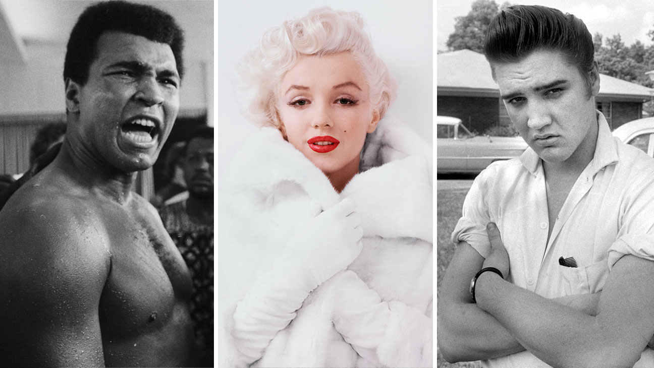 Muhammad Ali, Marilyn and Elvis- Authentic Brands Group -Split - H 2016