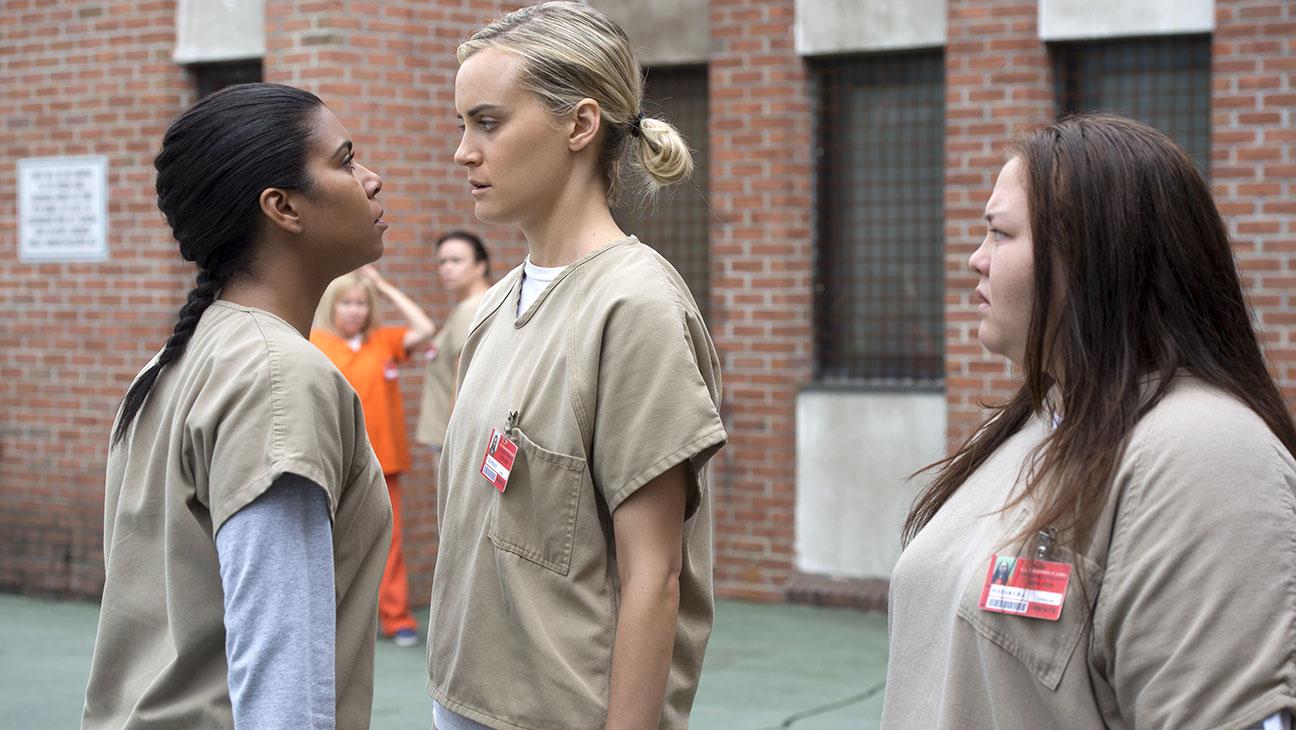 Orange Is The New Black S4 -Taylor Schilling; Jolene Purdy; Jessica Pimentel- H 2016
