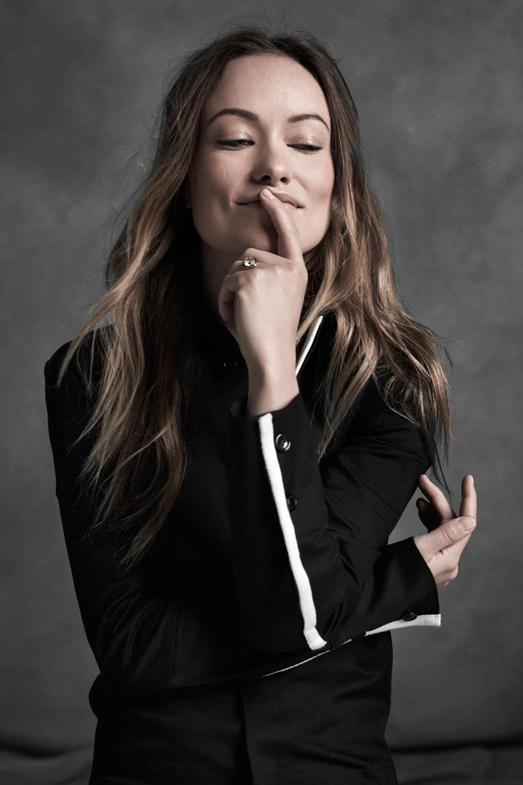Olivia Wilde for La Ligne - P 2016