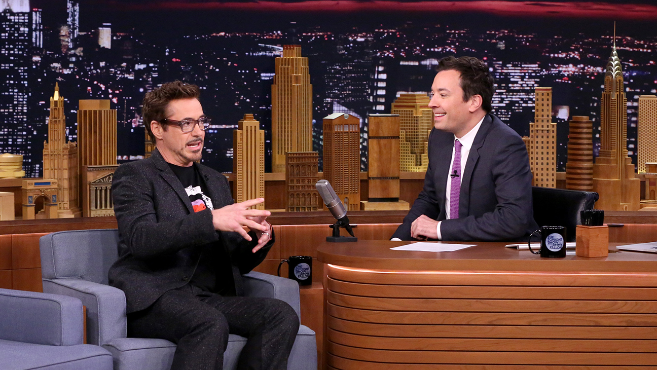 Robert Downey Jr Jimmy Fallon Tonight Show H 2016