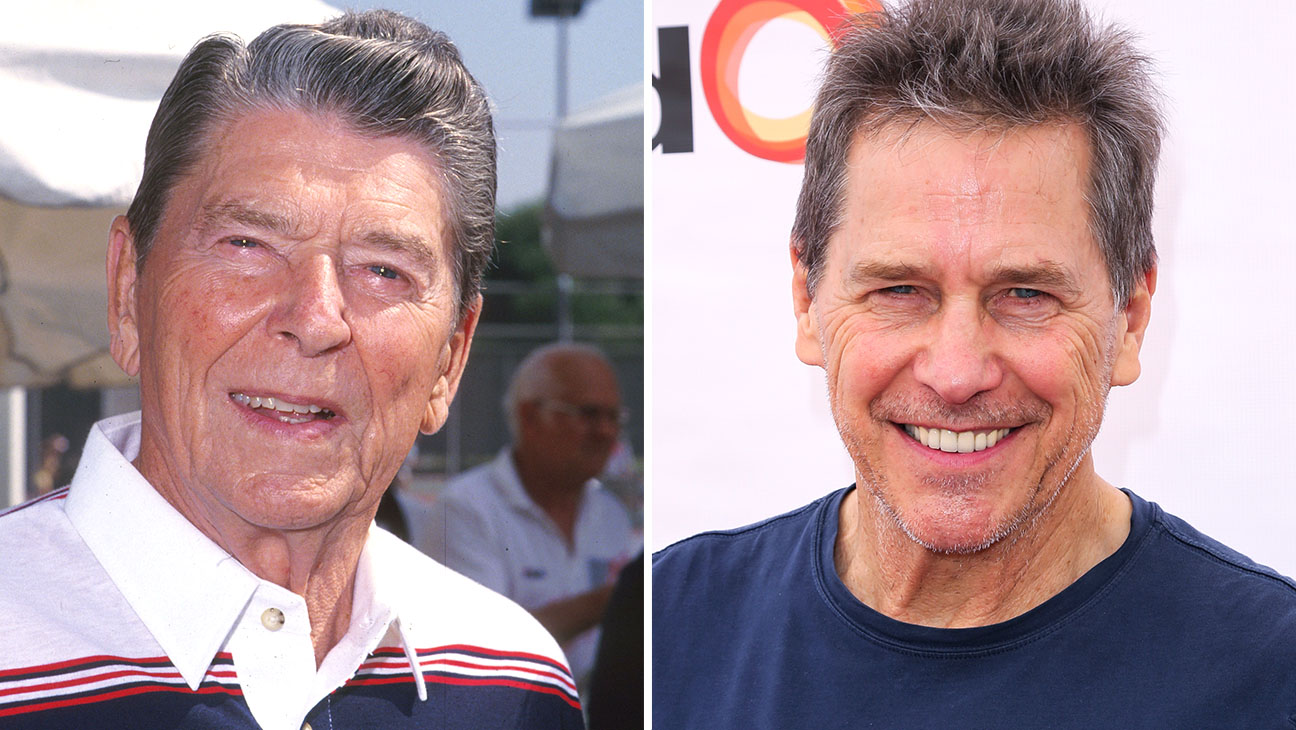 Ronald Reagan and Tim Matheson Split - Getty - H 2016