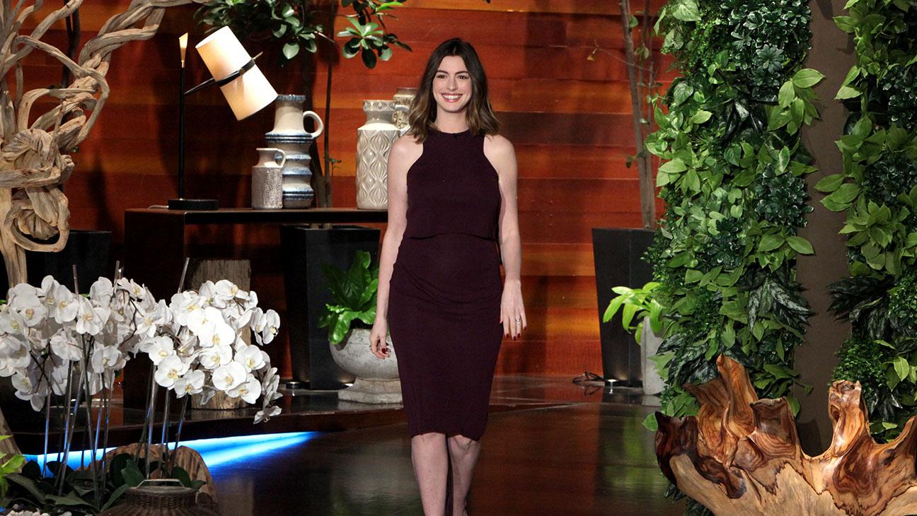 Anne Hathaway on Ellen- Publicity-H 2016