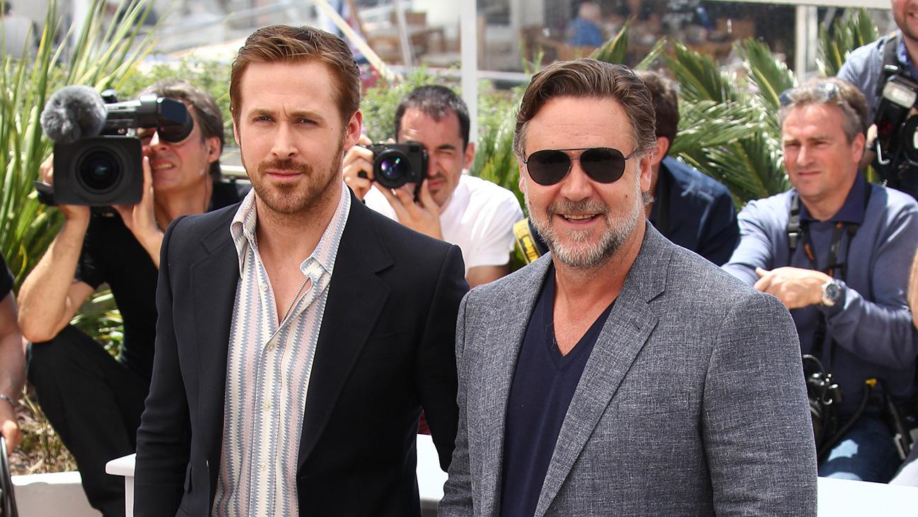 Ryan Gosling Russell Crowe Nice Guys - H 2016