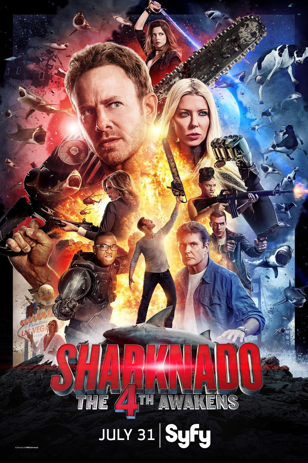 Sharknado 4 Poster - P 2016