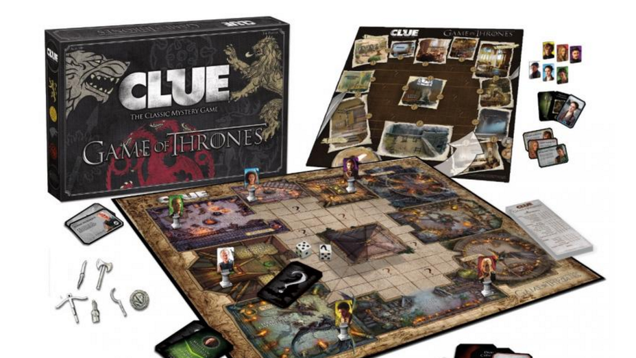 Game of Thrones Clue - H 2016