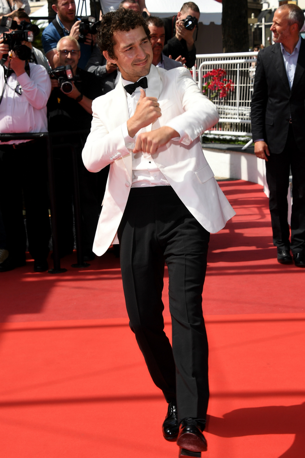 Shia LaBeouf at Cannes - Getty - H 2016