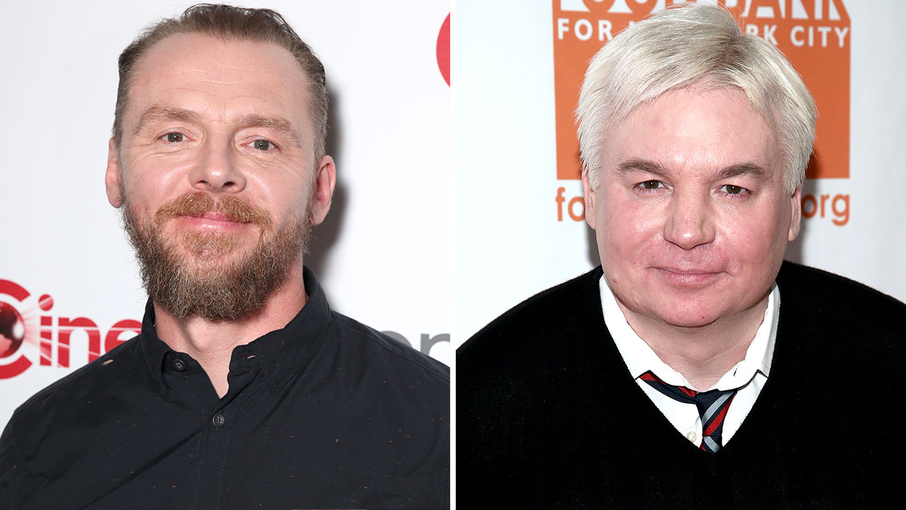 Simon Pegg and Mike Myer-Getty-H 2016