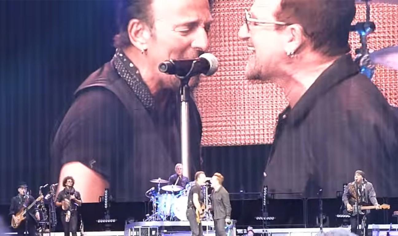 Springsteen Bono H 2016