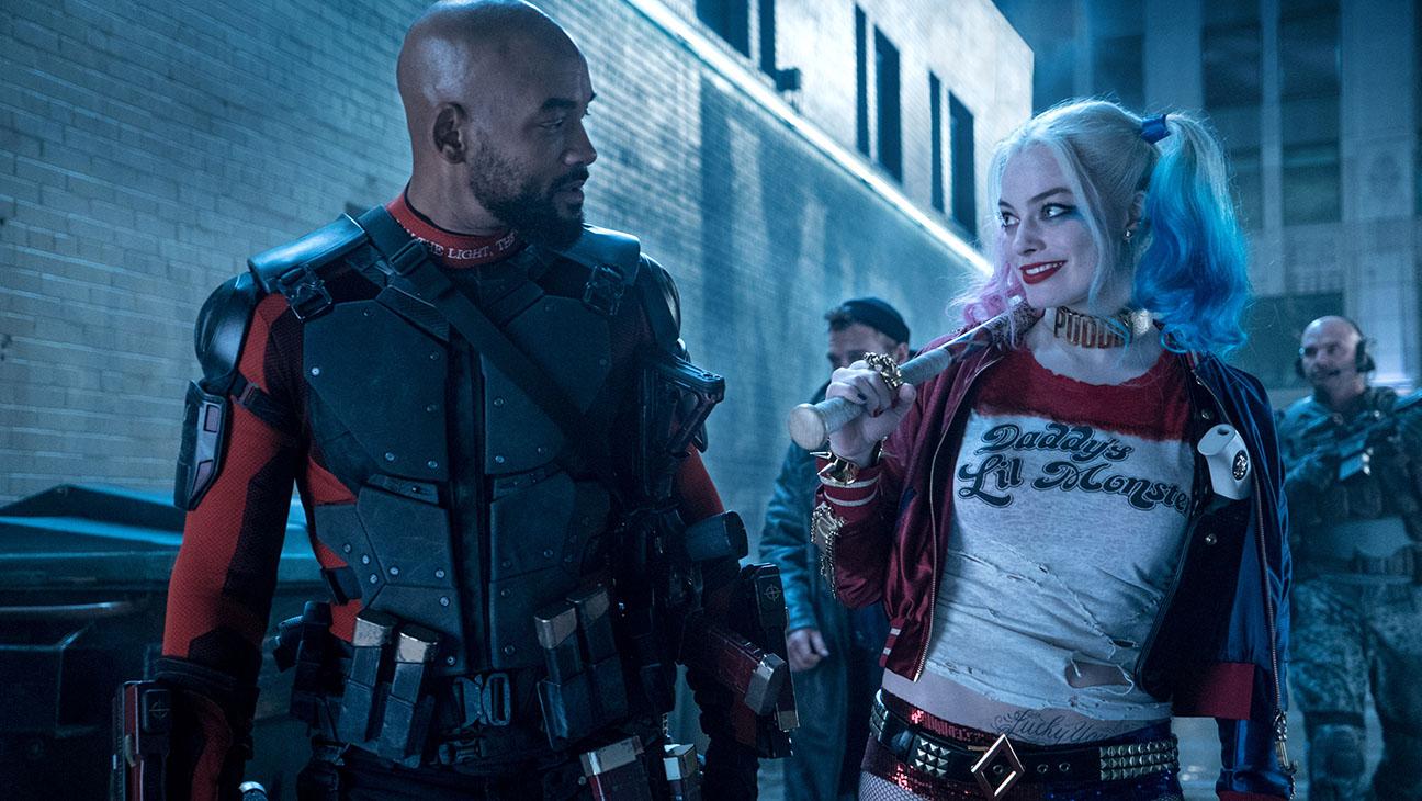 Suicide Squad-Still 2-Will Smith-Margot Robbie 2-H 2016