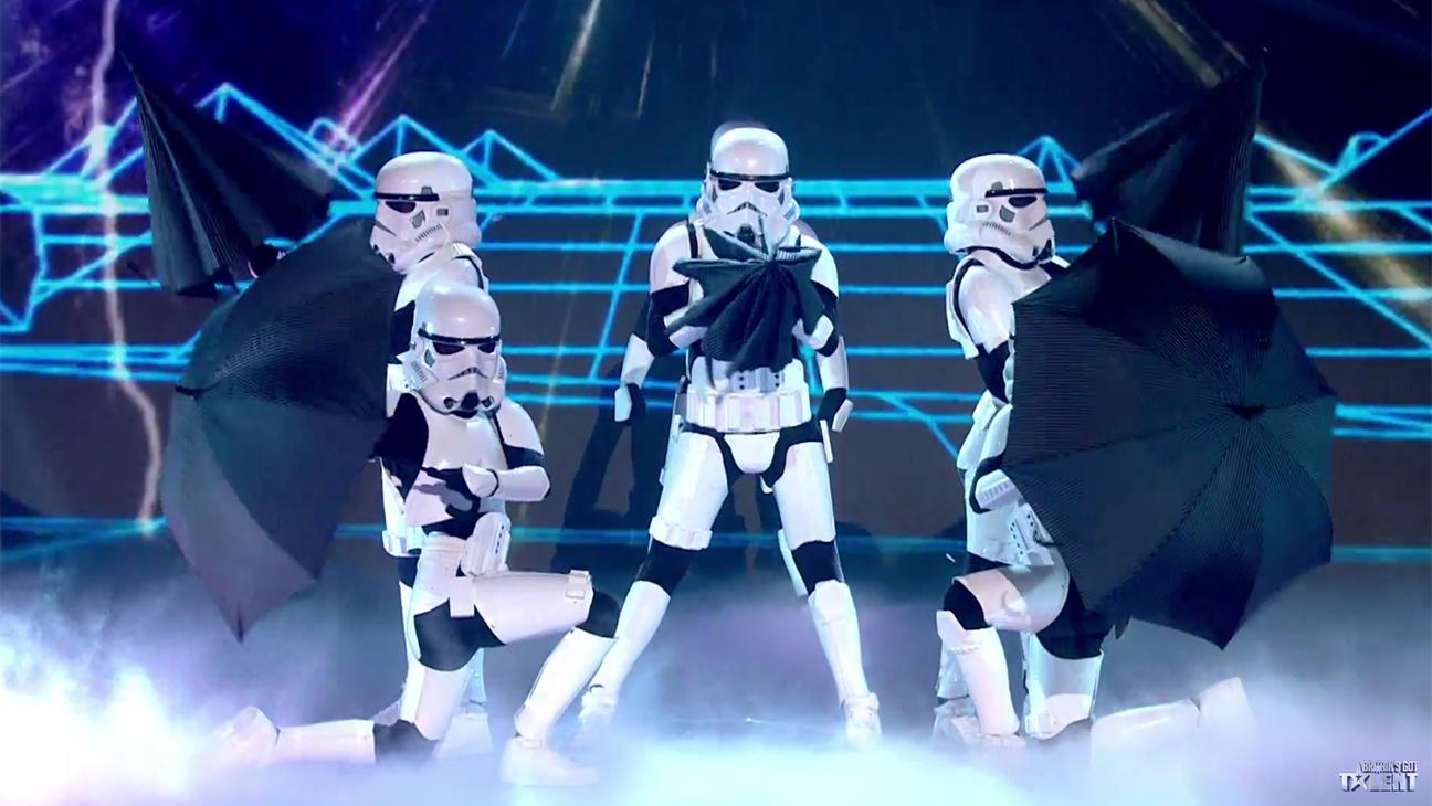 Dancing Stormtroopers Britain's Got Talent - H Screengrab 2016