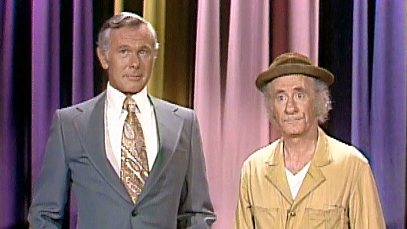 Irv Benson (right) and Johnny Carson on 'The Tonight Show.' - H 2016