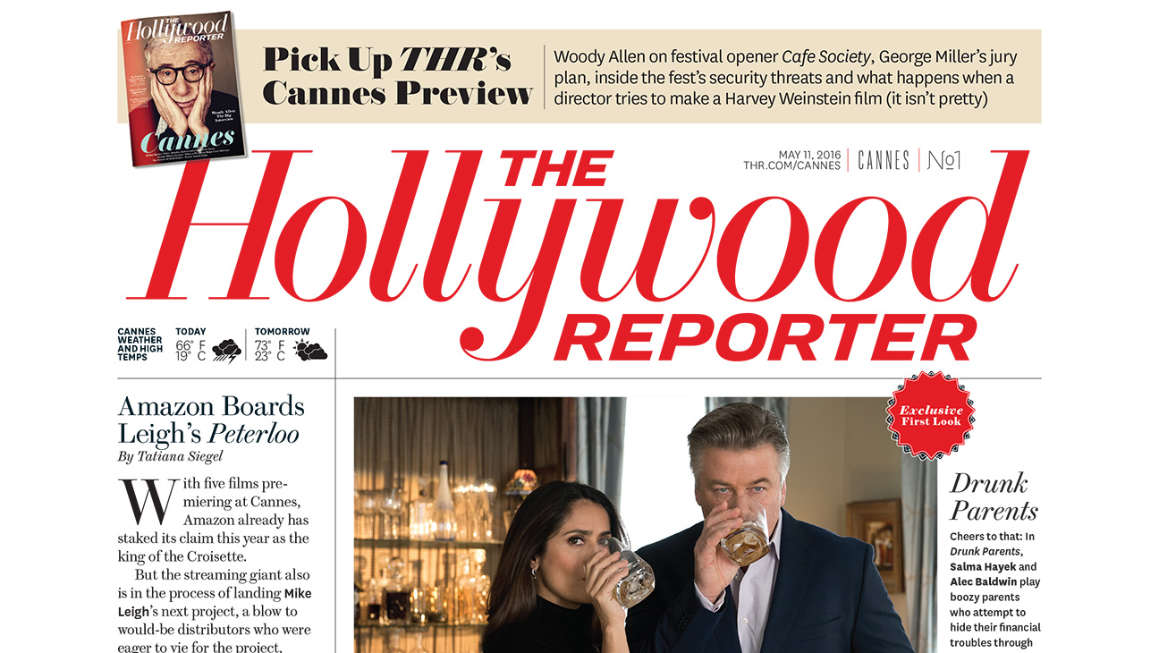 THR Cannes Daily Cover Day 1 - H 2016