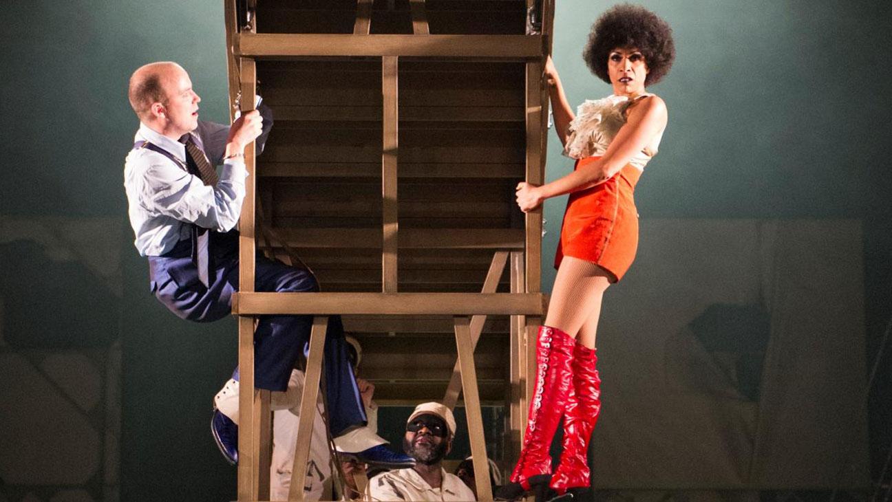 Threepenny Opera -Rory Kinnear and Debbie Kurup-Publicity 1-H 2016