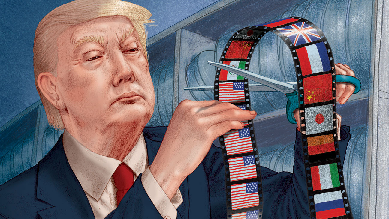 Donald Trump Presidential Win Could Chill the Global Film Industry -illo-H 2016